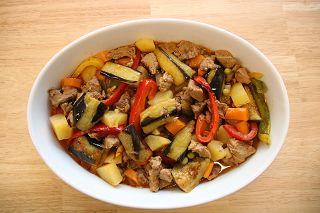 Lekkeressen - Fleisch mit Gemüse