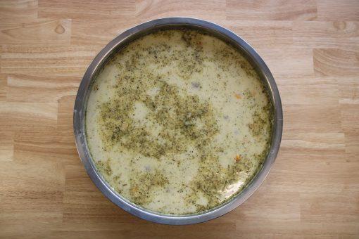Lekkeressen - Bauernsuppe mit Joghurt, Reis und frischer Minze
